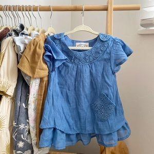 Indigo Soul Blue Boho Dress